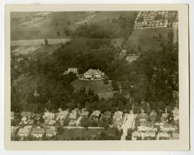 Aerial newspaper shot of the Kitselman Estate