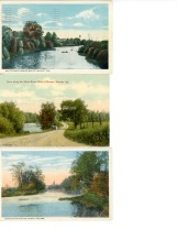 Postcards of the White River
