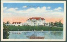 Muncie Postcard Front - Kitselman Estate