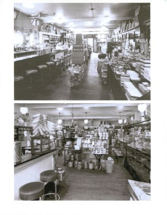 Inside of Dalby's Drug Store